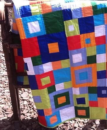 Squares 2 quilt