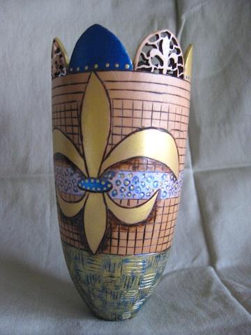New Orleans vase