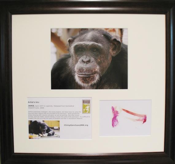 Jamie print framed