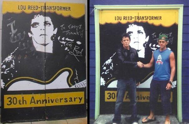 Lou Reed doors