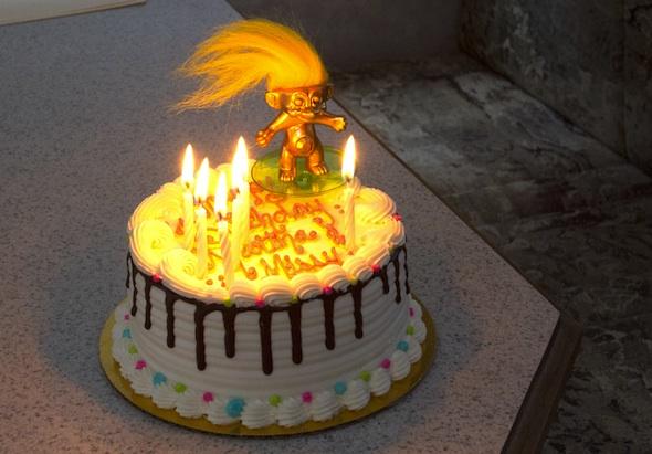 Martha's bday cake