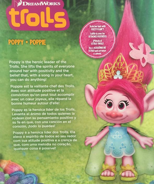 poppy troll description